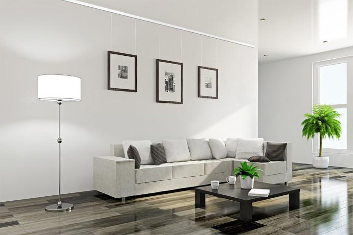 bilder ohne bohren befestigen boden und wand bauen und wohnen in der schweiz. Black Bedroom Furniture Sets. Home Design Ideas