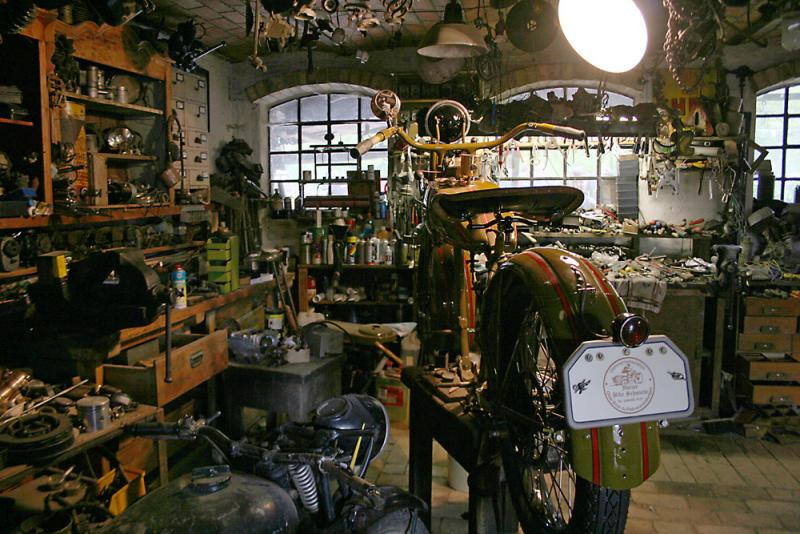 Dream Garage Workshop Cars