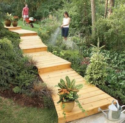 Gartendeko aus paletten garten allgemein bauen und - Gartendeko aus paletten ...