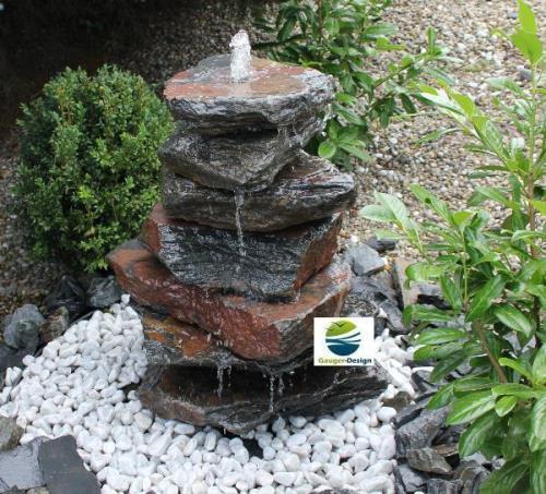 springbrunnen bauen wasser im garten bauen und wohnen in der schweiz. Black Bedroom Furniture Sets. Home Design Ideas