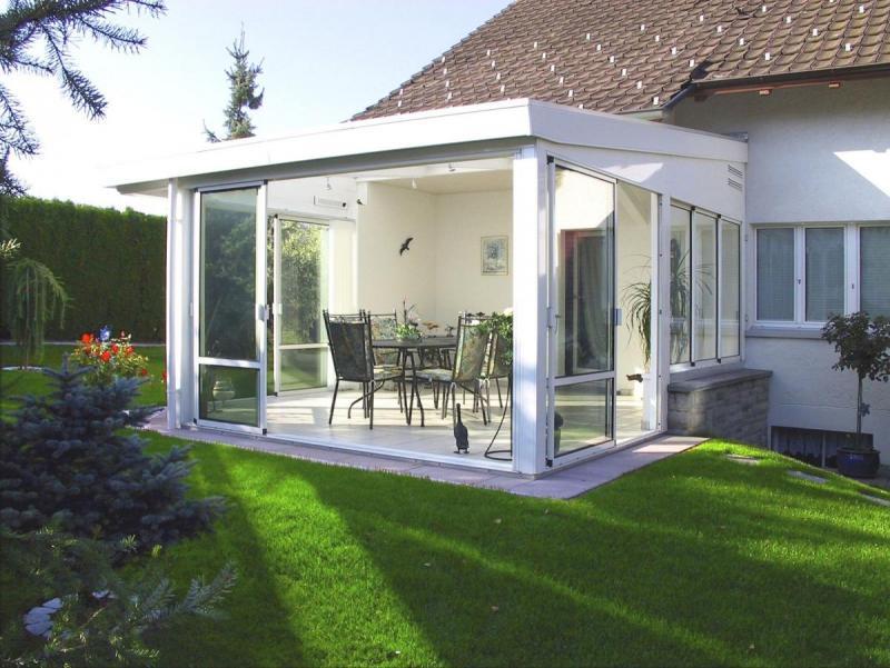wintergarten mit bausatz selber bauen bauplanung. Black Bedroom Furniture Sets. Home Design Ideas