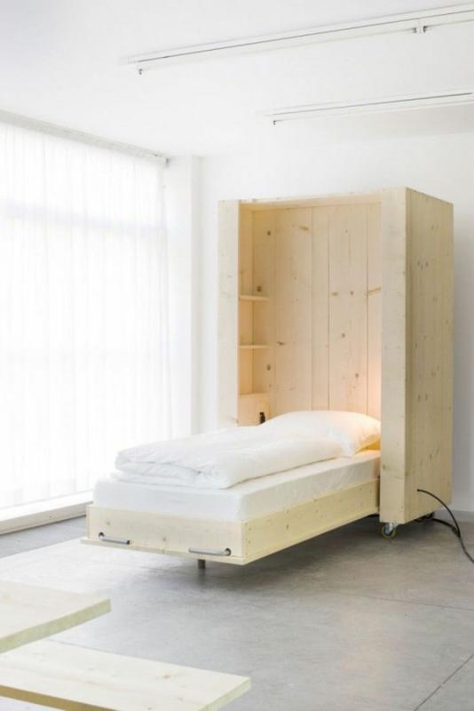 Bauanleitung Schrankbett Möbel Wohntrends Licht Feng Shui