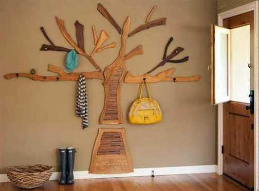 wandgestaltung flur boden und wand bauen und wohnen in. Black Bedroom Furniture Sets. Home Design Ideas