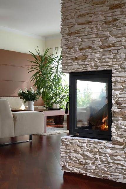 modernes wohnzimmer mit eckkamin bauen und wohnen in der schweiz. Black Bedroom Furniture Sets. Home Design Ideas